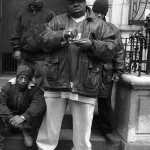 Picture Me Dope: The Notorious B.I.G. & Junior Mafia Rolling-Up On The Stoop In Brooklyn Back In The 90's
