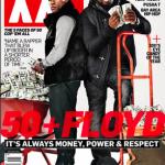 The Money Team: 50 Cent & Floyd Mayweather Covers XXL Magazine