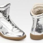 Fall/Winter 2011 Footwear: Maison Martin Margiela Metallic Silver Sneakers