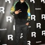 Fashion Me Dope: Swizz Beatz Wearing Versace For H&M Bomber Jacket & Reebok Kamikaze III Mid Sneakers