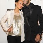 Love Affair: Swizz Beatz & Alicia Keys And Carmelo & La La Spotted At Keep A Child Alive Benefit Black Ball