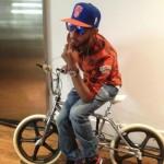 """Fashion Me Dope: Swizz Beatz In @ReebokClassics Kamikaze III """"NY Knicks"""" & G-Star Raw Shirt"""