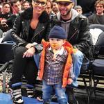 Spotted: Swizz Beatz, Alicia Keys & Egypt Sitting Courtside At The Knicks Game