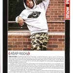 Show & Prove: A$AP Rocky's Music Spread In XXL Magazine