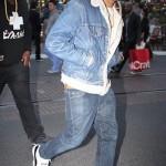 Celebs On The Scene: Chris Brown, Carmelo Anthony, Swizz Beatz & Drake