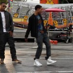 Styling On Them Lames: Diggy Simmons Rocking A $350 Burberry Prorsum Tee-Shirt & $930 Dior Homme Sneakers