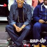 """Sneaker Me Dope: Jay-Z Rocking Kanye West's Nike Air Yeezy 2 """"Black/Pink"""" Sneakers"""