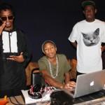 Dope Studio Session: Pharrell, Tyler & Lupe Fiasco In The Lab