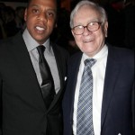 Now Look At Me, All Star-Studded: Jay-Z Celebrates His 40/40 Club Reopening With Warren Buffett, Ashanti, Fabolous, Swizz Beatz & More