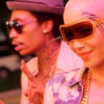 Partying In Miami: Wiz Khalifa, Amber Rose & Her New Face Tattoo At Cameo Nightclub
