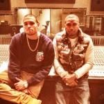 Studio Me Dope: Chris Brown & Nas In The Lab