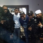 Bringing Down The House In Los Angeles: Rick Ross, Busta Rhymes, Chris Brown & Swizz Beatz At Club Nokia