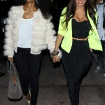 Shopping In Los Angeles: La La Vazquez-Anthony & Kelly Rowlad Blowing Money Fast At Intermix