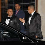 After The Show It's The After Party: Jay-Z, Beyonce, Nas, Alicia Keys & Jessica White Partying It Up At The 40/40 Club