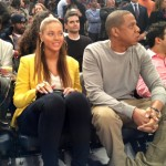 Courtside At MSG: Jay-Z, Beyonce And Spike Lee Watching The Knicks Vs. Nets Game