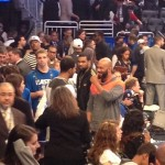 Beefing Now Kissing & Making Up: Drake And Common Talking/Smiling At The NBA All Star Game