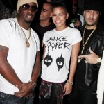Bottles Poppin In NYC: Cassie, Diddy & French Montana Parties At SL