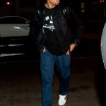Showing His A$$ In Los Angeles: Chris Brown Departing LAX