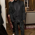 Styling On Them Lames: Kanye West In $545 Balenciaga Sneakers & Black Leather Pants