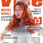Notorious K.I.N.G: Nicki Minaj Covers VIBE February/March 2012 Issue