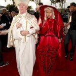 Fashion Me Stupid: Nicki Minaj's Arrives To The Grammys In A Versace Outfit