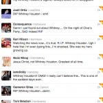 We're All Mourning: The Music Industry Reacts To Whitney Houston's Death