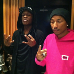 Studio Me Dope: A$AP Rocky & Pharrell Williams In The Lab
