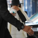 Dining In NYC: Jay-Z, Beyonce & Blue Ivy Carter Spotted Arriving To NOBU