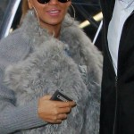 Out In New York City: Beyonce & Blue Ivy Cater Covered In Fur