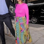 Girl You Be Killin Em: Beyonce, La La Vazquez-Anthony & Rihanna Spotted Wearing Colorful Upscale Designer Pieces