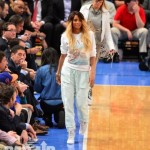 Making Them Turn Their Heads: Ciara All Glammed-Up At The Knicks Game