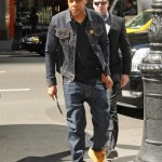 Styling On Them Lames: Jay-Z In A Blue Denim Outfit & Timberland Boots
