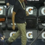 Spotted In New Jerz: Jay-Z & His Childhood Friend Emory Jones Sitting Courtside At The Nets Game