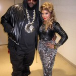 Picture Me Dope: Lil Kim Photo'd Chilling With Rick Ross & Meek Mill