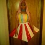 Dope Or Nope? Nicki Minaj Wearing A Popcorn Dress In Japan