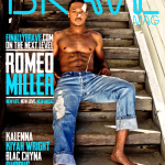 All Grown Up: Romeo Miller Shows His Abs & Chest On The Cover Of Brave Magazine