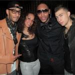 Partying In NYC: Swizz Beatz & Alicia Keys Celebrates Cole Cook 21st Birthday At Club SL