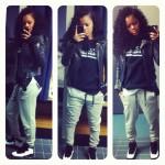 "Sneaker Me Dope: Teyana Taylor Rocking Air Jordan 10 ""Chicago"""