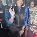 Very Pregnant: Yandy Smith Of 'Love & Hip-Hop' & Her BIG Belly Spotted Partying At Club Dolce
