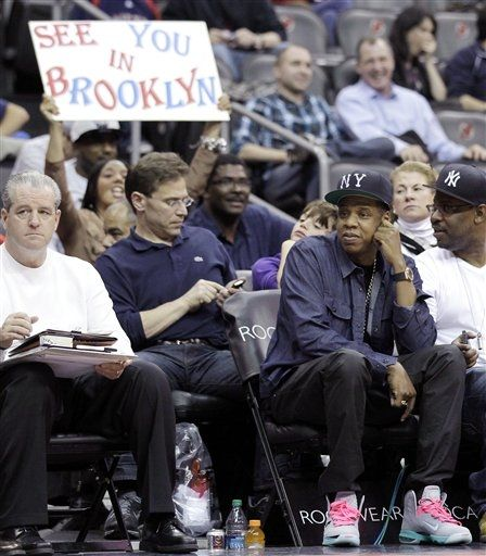 Music mogul Jay-Z ...