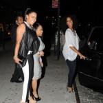 Celebs Style: La La Vazquez-Anthony & Monica In Rag & Bone/JEAN Split Skinny Jeans