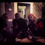 Making Music In Style: Swizz Beatz & Nas In The Studio Wearing Reebok Pumps