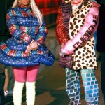 She's Working The Camera: Nicki Minaj Shoots Adidas Ad With Fashion Designer Jeremy Scott In Brooklyn