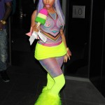Is She In A Class All By Herself? Nicki Minaj Wearing A Candy Popsicle Outfit & Thinking About Leaving The Game