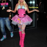 Spotted Across The Ponds: Nicki Minaj & SB Making Their Rounds In London [Peep Their Outfits]