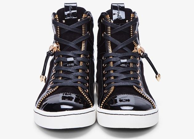 Dope Or Nope? $735 Pierre Balmain Lexis Zip Sneakers ...