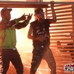Fashion Me Dope: A$AP Rocky Wearing An Adidas Varsity Jacket & Swizz Beatz In A Givenchy Rottweiler Tee-Shirt