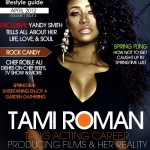 Blazing Hot Photo Spread: Tami Roman Covers Yandy Smith's EGL Magazine