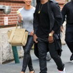 Friends Day Out: Kanye West And Kim Kardashian Spotted Walking & Having Icecream In NYC