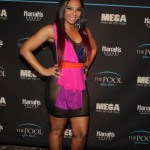 Styling On Them Hoes: Ashanti Wearing An $260 Dominique Auxilly Sheer Mesh Dress & $795 Giuseppe Zanotti Pumps